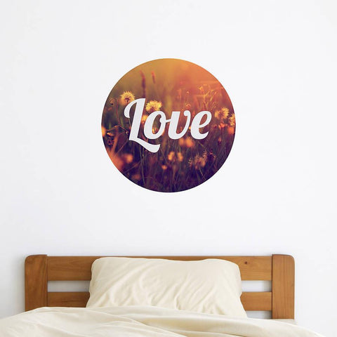 Vintage 'Love' Photo Wall Sticker - Oakdene Designs