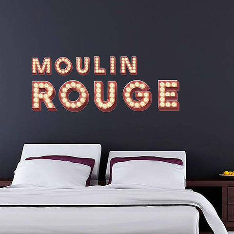 Wall Stickers 'Retro Cinema Marquee Letters' - Oakdene Designs - 1