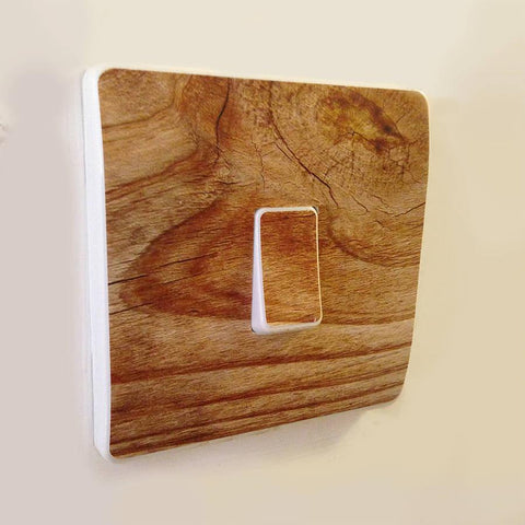 Wood Effect Light Switch Covers - Oakdene Designs - 1