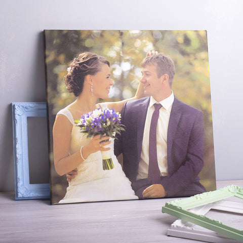 Your Photo Printed On Canvas