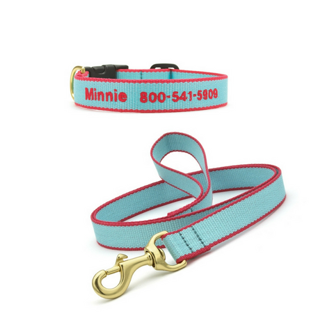 Bamboo Personalized Collars and Leads