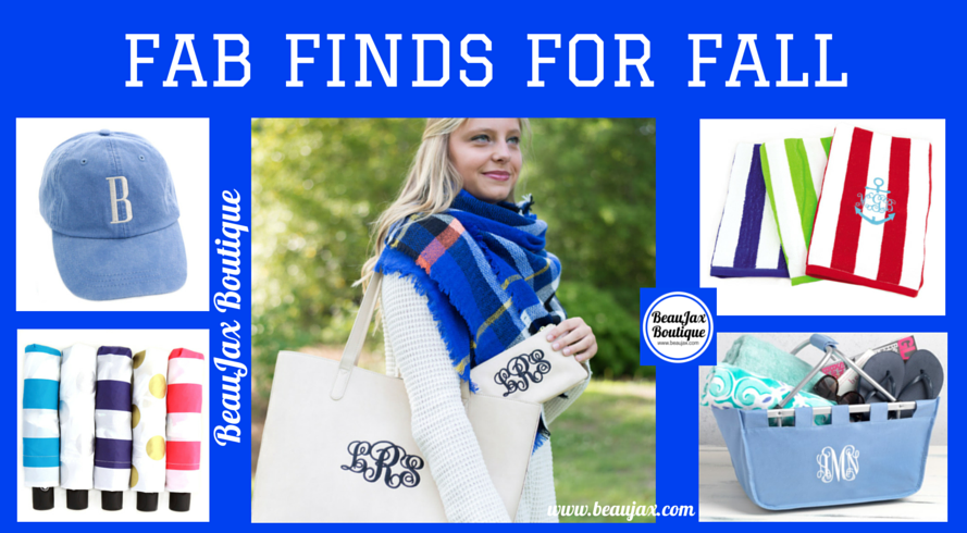 Fab Finds For Fall at BeauJax Boutique!