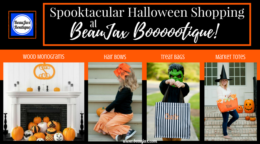 Spooktacular Halloween Shopping at BeauJax Boooootique!