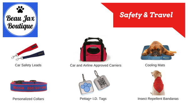 Shop BeauJax Boutique For All of Your Dog's Safety and Travel Needs!