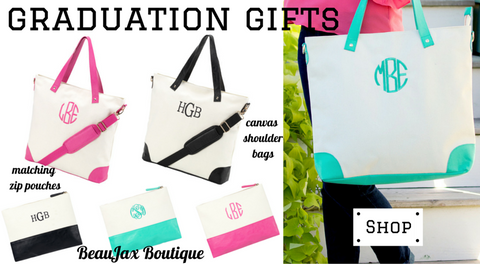 Perfect Monogrammed Gifts for Your Graduate!