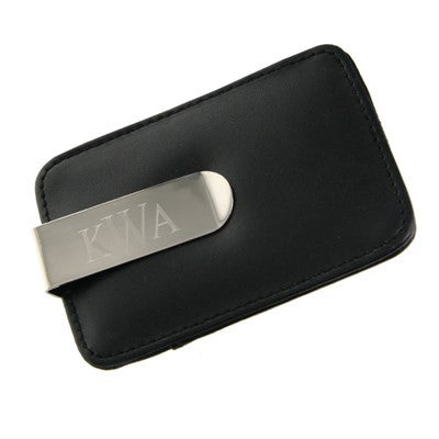 Engraved Money Clip with Credit Card Holder - Mens - BeauJax Boutique