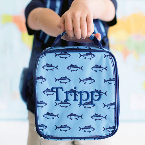 Finn Monogrammed Lunch Box - Lunch Boxes - BeauJax Boutique