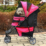 Regal Plus Dog Stroller - Strollers - BeauJax Boutique