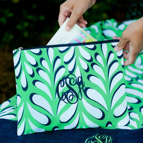 Island Palm Monogrammed Collection