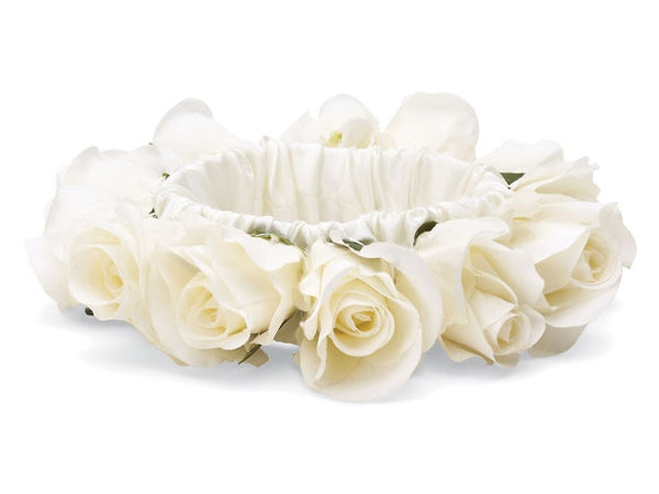 Custom White Rosebud Rings - Weddings - BeauJax Boutique