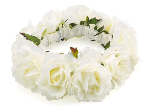Custom White Rose Rings - Weddings - BeauJax Boutique