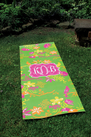 Monogrammed Yoga Mats - Home - BeauJax Boutique
