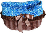 Reversible 3-in-1 Blue Western Snuggle Bug Bed, Carrier, Car Seat - Carriers and Car Seats - BeauJax Boutique