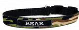 Camo Personalized Dog Collars Available in 6 Camo Colors - Personalized Collars - BeauJax Boutique