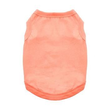 summer-coral-plain-cotton-dog-tank-shirts-BeauJax-Boutique