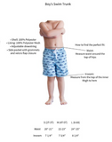 Kids Finn Swim Trunks - Kids Swimwear - BeauJax Boutique