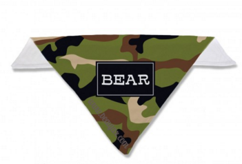 Camo Personalized Dog Bandana in 6 Colors - Bandanas - BeauJax Boutique