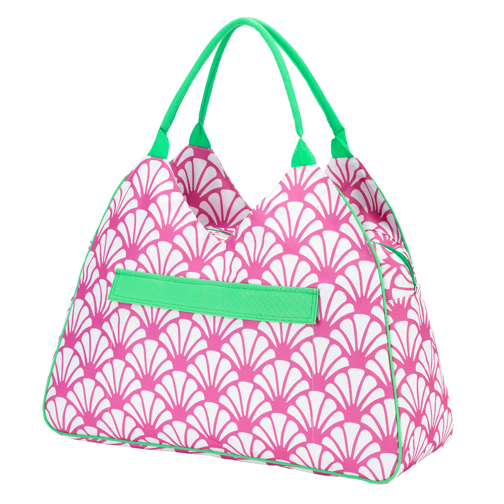 shelly seaside monogrammed beach bag beaujax boutique