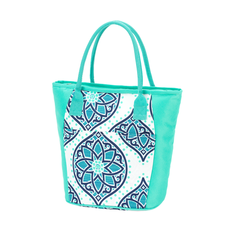Boho Monogrammed Cooler Tote Bag - Cooler Totes - BeauJax Boutique