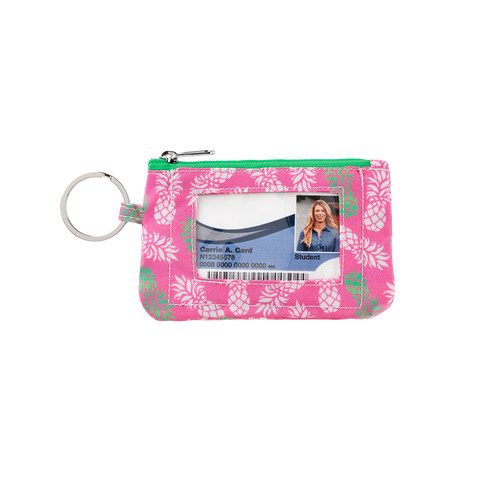 Pineapple of My Eye I.D. Wallet with Key Fob - Travel Accessories - BeauJax Boutique