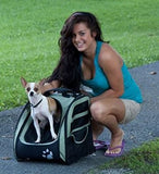 NEW! Traveling Dog 5-in-1 Roller Bag Backpack Carrier - Carriers and Car Seats - BeauJax Boutique