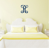 Single Initial Wood Monogram - Wood Monograms - BeauJax Boutique