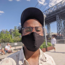 Load image into Gallery viewer, COOL FIT MASK in Black - Masks Are Cool