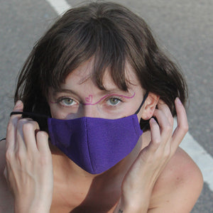 COOL FIT MASK in Purple - Masks Are Cool
