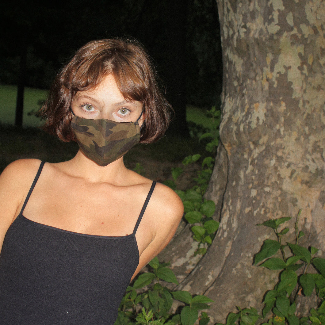 COOL FIT MASK in Camouflage