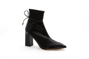STAR Ankle Boot | Black