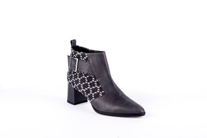 STELLA Ankle Boot | Osaka & Grey