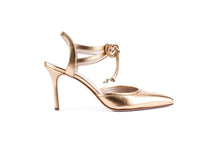 Load image into Gallery viewer, ELLE Ankle Tie Pump | Gold