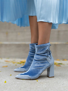 STAR Ankle Boot | Sky Blue