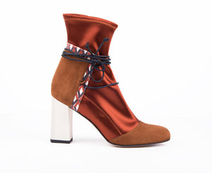Ivy Ankle Boot | Brown
