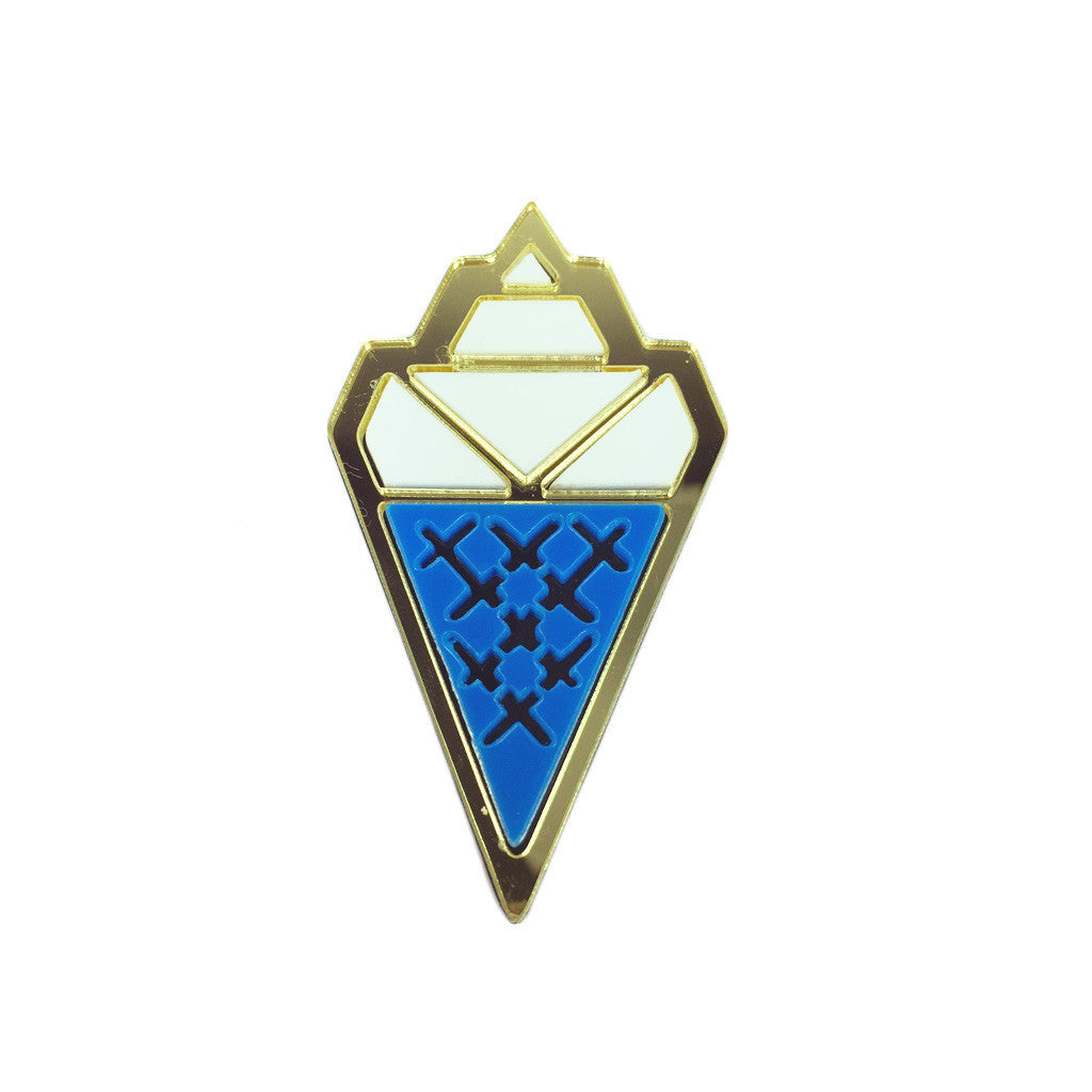 Cyber Ice Cream Brooch - Bon Flare Ltd.