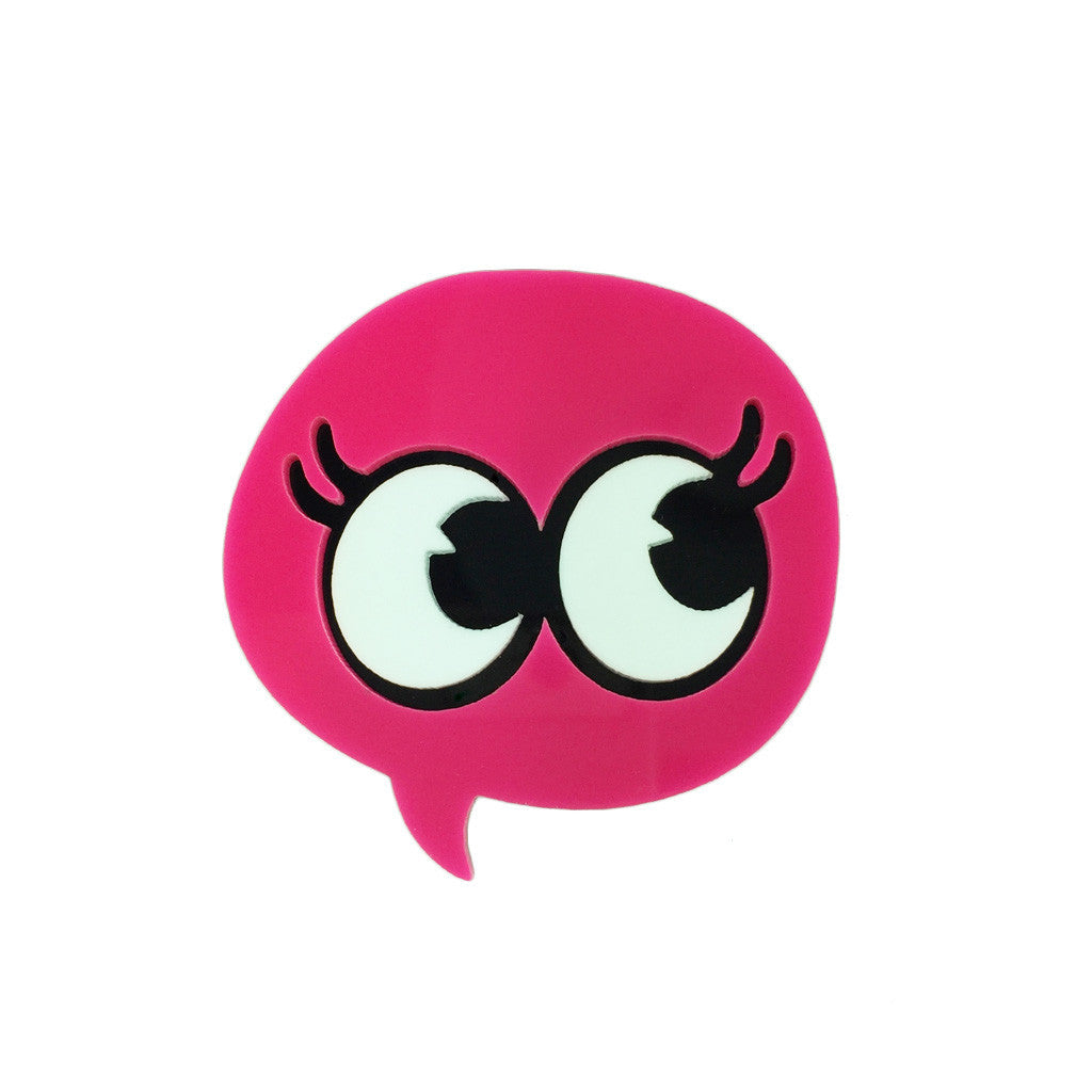 Bubble Eyes Brooch - Bon Flare Ltd.
