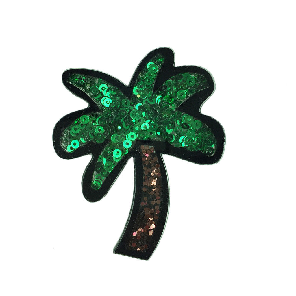 Sequin Plum Tree Brooch - Bon Flare Ltd.
