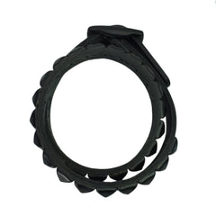 Stud Double Wrap Leather Bracelet - Bon Flare Ltd.