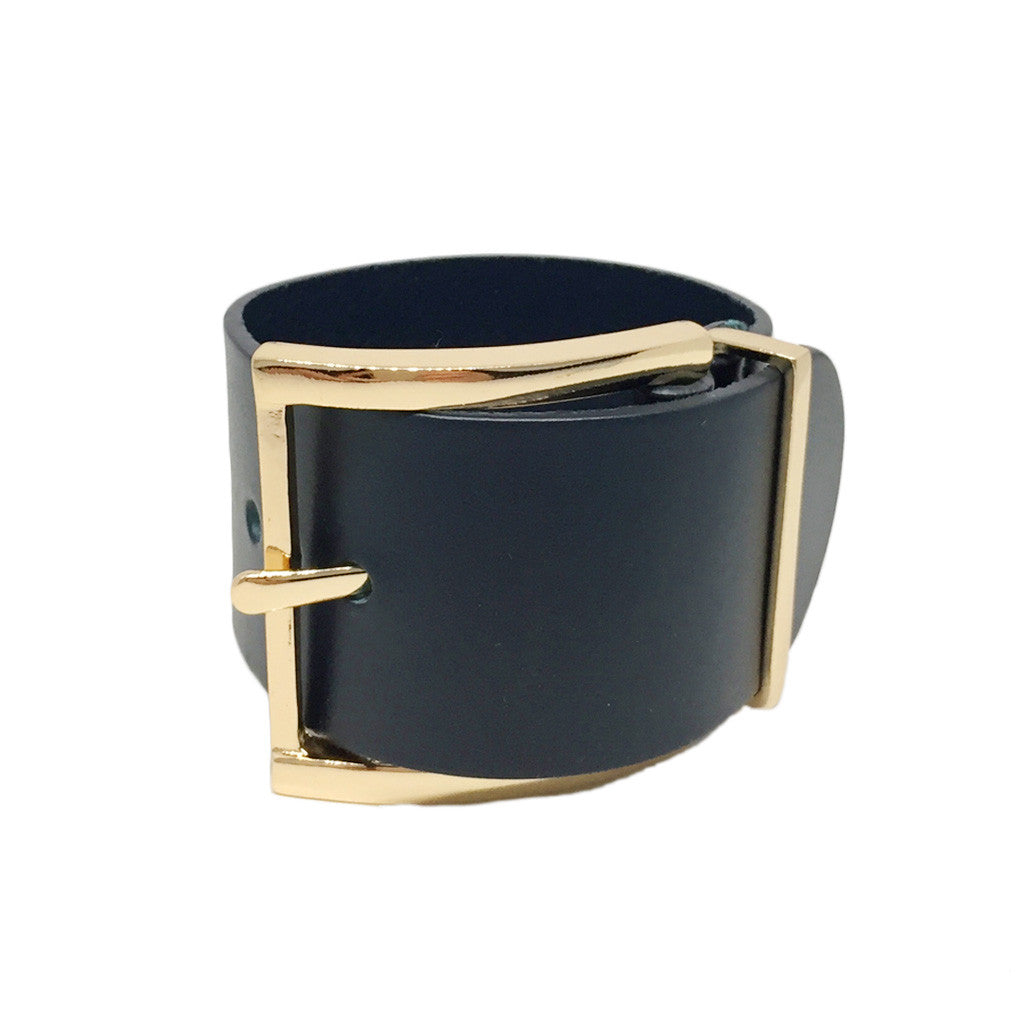 Buckle Leather Bracelet - Bon Flare Ltd.