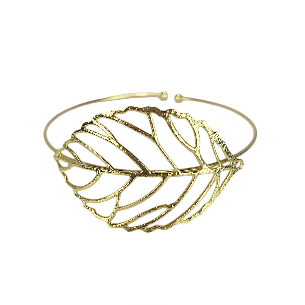 Hollow Leaf Cuff - Bon Flare Ltd.