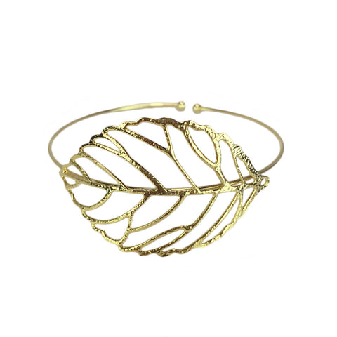 Hollow Leaf Cuff