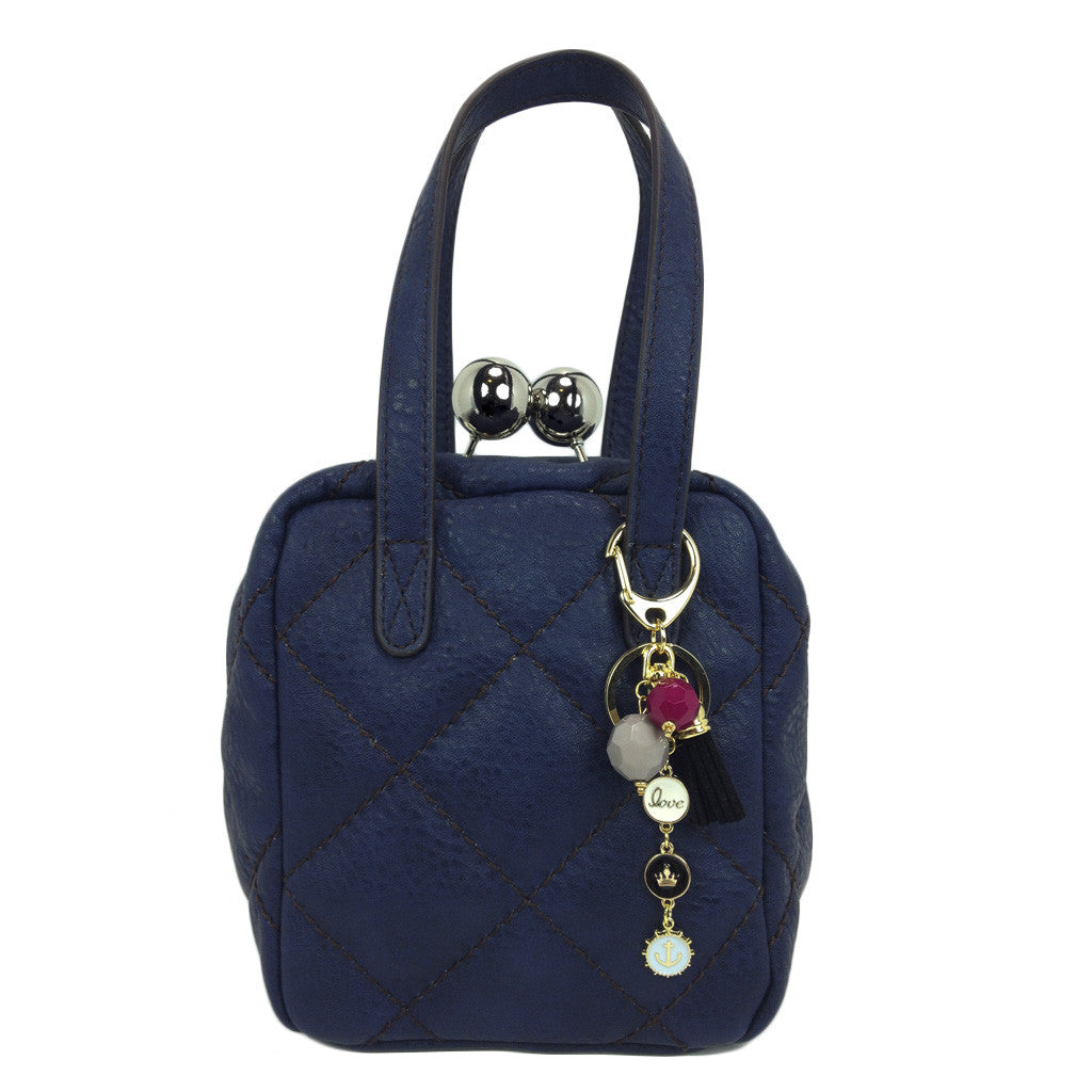 Quilted Buckle Handbag - Bon Flare Ltd.