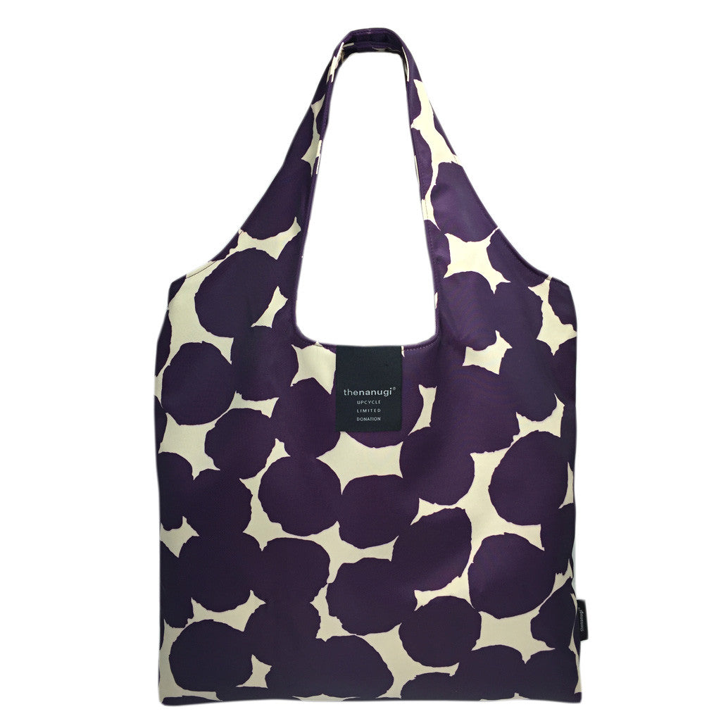 Printed Dot Motif Hobo Tote - Bon Flare Ltd.