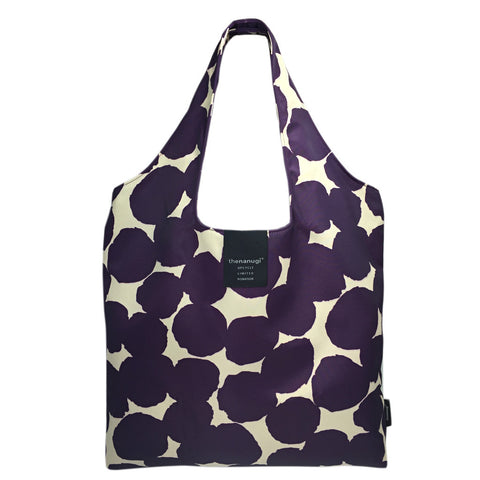 Printed Dot Motif Hobo Tote