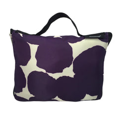 Printed Dot Motif Packable Duffel - Bon Flare Ltd.