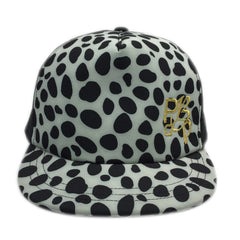 Leopard With Embroidered Logo Trucker Cap - Bon Flare Ltd.