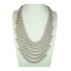 Enamel Strands Necklace - Bon Flare Ltd.