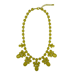 Enamel Statement Necklace - Bon Flare Ltd.