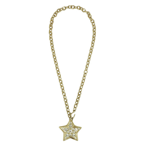 Sparkle Star Pendant Necklace