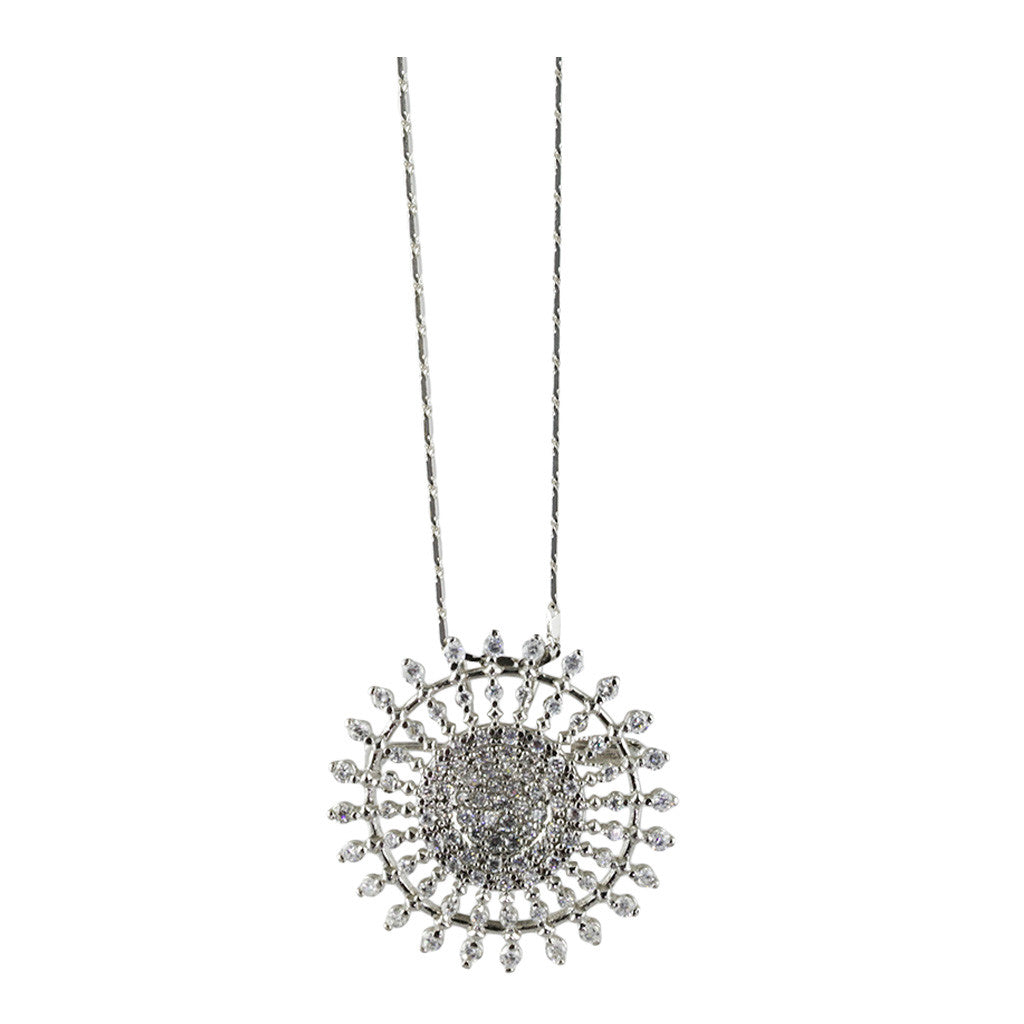 Sun Diamond Pendant/Brooch - Bon Flare Ltd.